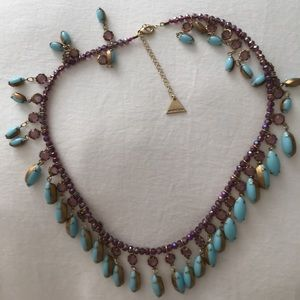 Pretty Anthropologie beaded necklace
